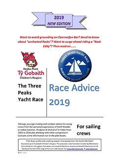 Three Peaks Yacht Race - advice 2019 Fro