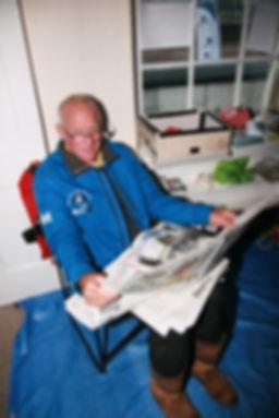 Martin Pound, Skipper of Moby J Three Peaks Yacht Rac 2017