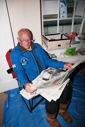 Martin Pound, Skipper of Moby J Three Peks Yacht Race 2016