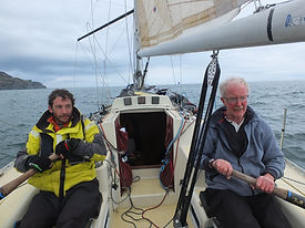 Rowing off the Mull of Kintyre