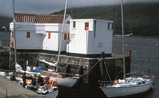 Fort William Quay was the finish of the first Three Peaks Yacht Race