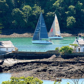 3PYR 2021 (15) - Close Racing in the Swellies.JPG