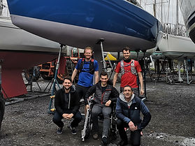 Team picture Denebola 2019 3 Peaks Yacht Race