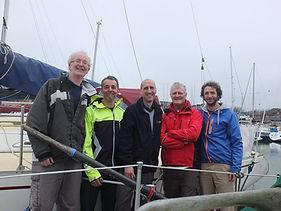 Team Aurora - Three Peaks Yacht Race 2017