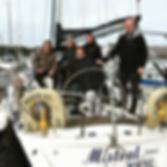 Team Ultimate Direction - Three Peaks Yacht Race 2017