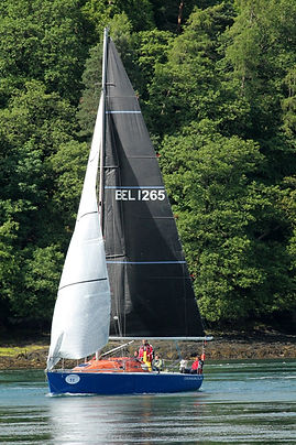 Denebola in the 2014 Three Peaks Yacht Race