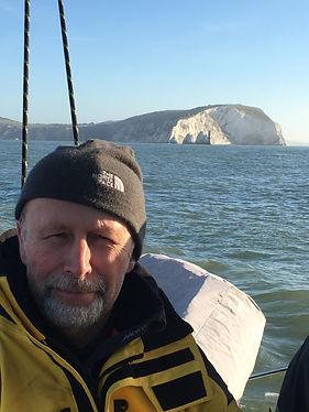 Chirs Ross, skipper of Peaky Blinder in the 2019 Three Peaks Yacht Race