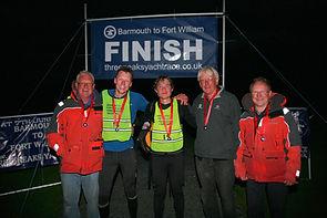 The Wight Rose Team - Winner Three Peaks Yacht Race 2014
