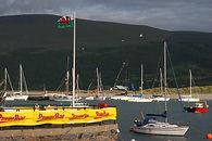 Branding at the Powerbar Three Peaks Yacht Race