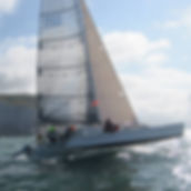 Wandering Glider entered in the 2019 Three Peaks Yacht Race