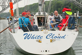 White Cloud - Three Peaks Yacht Race 2017