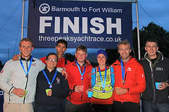 Southampton University OTC Team at Three Peaks Yacht Race