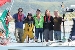Three Peaks Yacht Race - a team event
