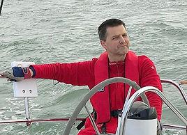 Peter Thorn racing on Wild Spirit