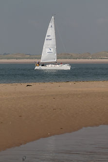 Ajax enter the Menai Strait