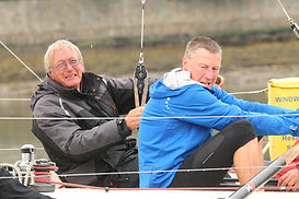 Geoff West and Alex Pilkington - Three Peaks Yacht Race 2017