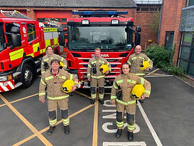 White Watch Droitwich Fire Service