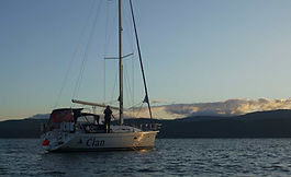 Clan, racing as Smithers Purlow in the 2018 3 Peaks Yacht Race