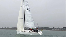 Magic Touch, racing in the Three Peaks Yacht Race