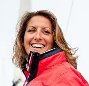 Dee Caffari, skipper of the Sail 4 Cancer Entry Three Peas Yacht Race 2016