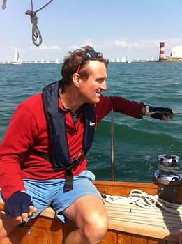 Tim Jones - Three Peaks Yacht Race 2017