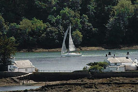 Jamira in the Menai Strait