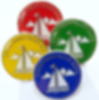 Three Peaks Yacht Race Lapel Badges