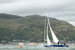 The Three Peak Race start off Barmouth