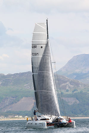 The race is open to multihulls