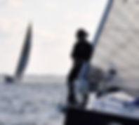 Kat Burleigh Three Peaks Yacht Race 2016