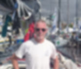 John Williams racing on Jumpa Lagi in the 2019 3 Peaks Yacht Race