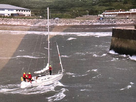 Entering Whithve in the 2007 Three Peaks Yacht Race