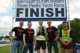 2015 Race Winners Team Rio on the Finish Line