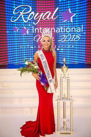 Hollie Robinson Royal International Miss UK Director