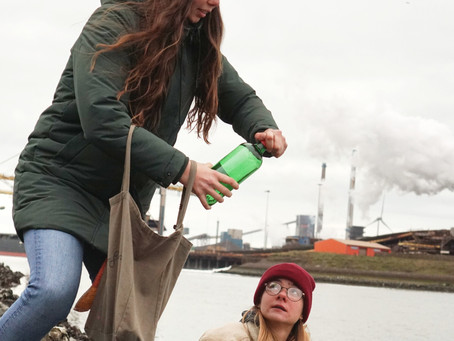 Surfrider strijdt tegen de vervuiling van Tata Steel