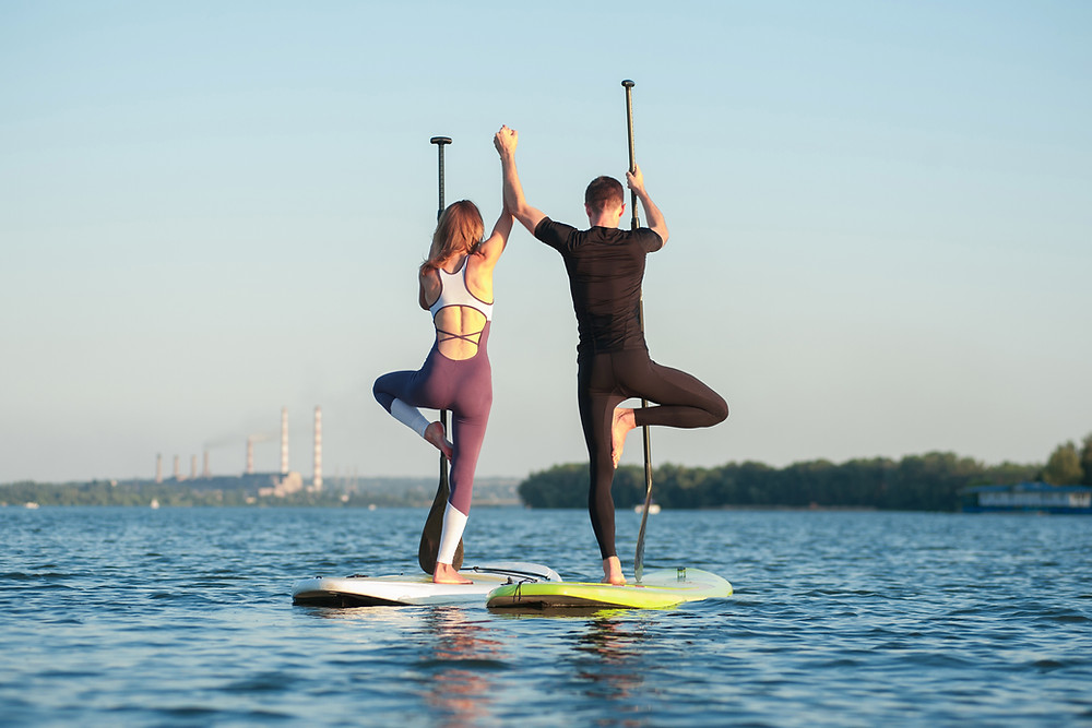 paddleboard SUP yoga