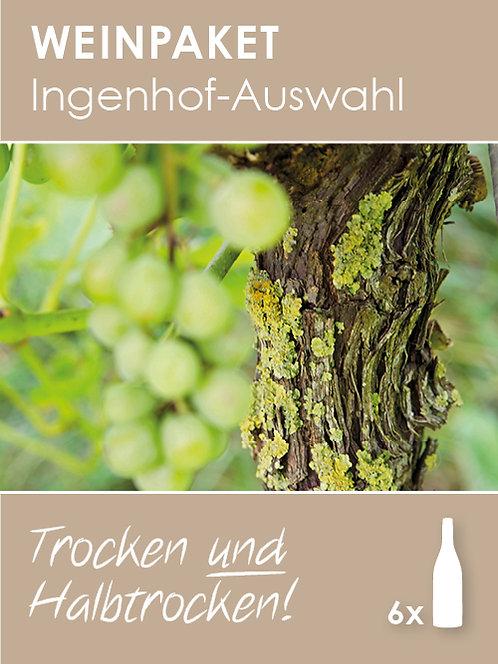 Ingenhof-Auswahl: Trocken UND Halbtrocken!