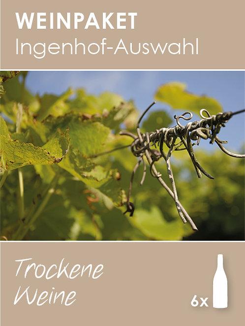 Ingenhof-Auswahl: Trockene Weine