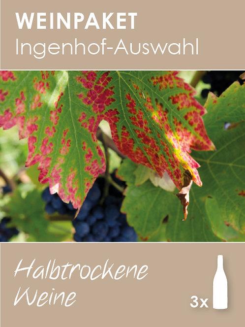 Ingenhof-Auswahl: Halbtrockene Weine