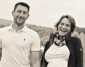 Karsten Wulf und Melanie Engel vom Ferienhof, Obst- und Weingut Ingenhof nahe der Ostee im Herzen der Holsteinischen-Schweiz