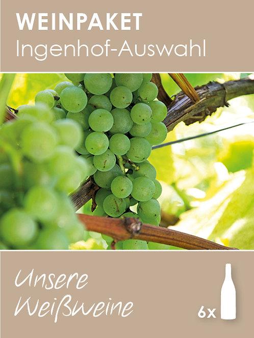 Ingenhof-Auswahl: Unsere Weißweine