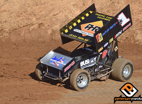 Contact Derails Forsberg and F&F Racing at Placerville Speedway