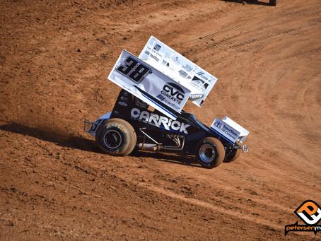 Blake Carrick Runs Through Silver Dollar Speedway Alphabet