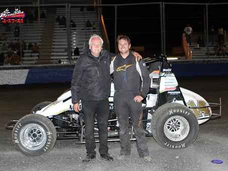 Shawn Jones Storms to Hunt Series Win at Petaluma Speedway