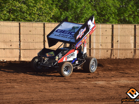 Last Lap Miscue Hinders Forsberg's Charge at Placerville Speedway