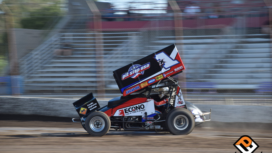 Forsberg Fights Back to Finish 8th During 4th of July Extravaganza