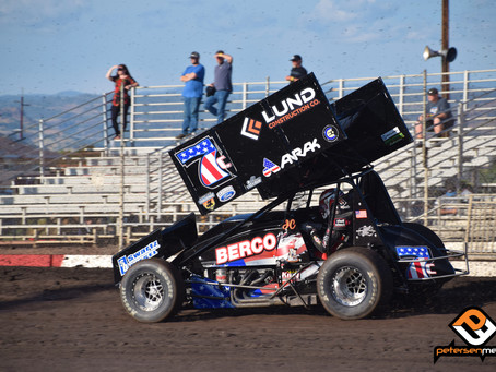 Justyn Cox Charges to Top-5 During Bill Brownell Memorial