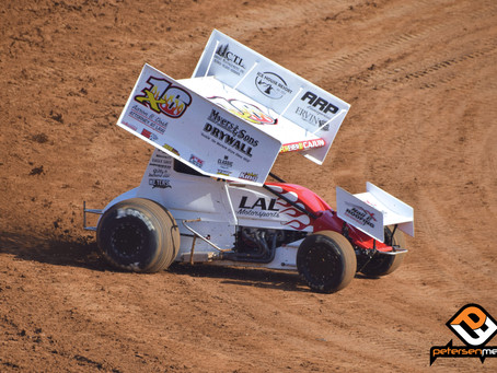 Andy Gregg Back in Placerville Speedway Top-10