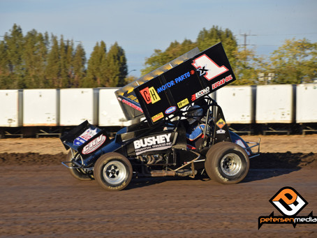 Forsberg Battles Back for 11th Place Finish at Stockton Dirt Track