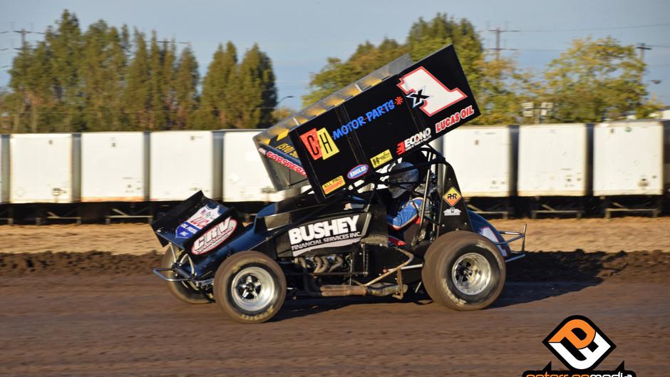Forsberg Battles Back for 11th Place Finish at Stockton Dirt Track